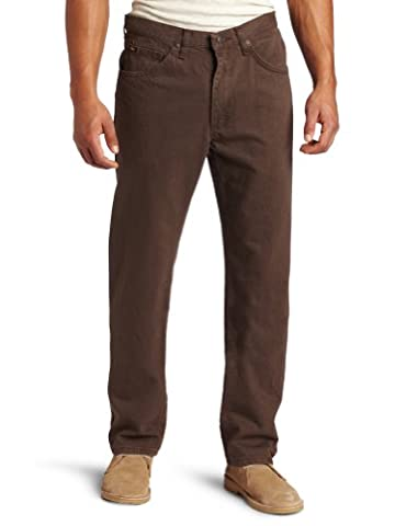Lee Men's Regular Fit Straight Leg Jean, Walnut, 36W x 29L