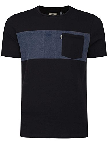 Herren T-Shirt O'Neill O'Riginals Neps Panel T-Shirt Black Out