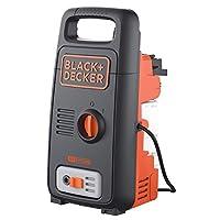 Black and Decker Pressure Washer with Accessories, Multi Color, 100 Bar, 1300 W, BXPW1300E-B5