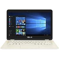 Asus Zenbook Flip UX360CA-C4232T 33,8 cm (13,3 Zoll) Notebook (Intel Core i7-7Y75, 8GB Arbeitsspeicher, 256GB SSD Festplatte, Intel HD Grafik, Win 10) gold