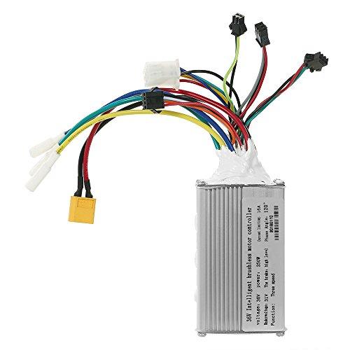 Elektrische Fahrrad Bürstenlosen Motor Controller Hall Sensor Refitted Ebike Controller Roller Teile Zubehör 36 V 250/350 Watt -