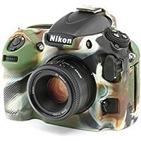 easyCover Custodia protettiva in silicone per fotocamera Nikon D810–colore: mimetico