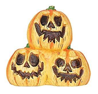 Light Up Pumpkin Trio With Sound for Halloween fancy dress (Anzug Up Light)