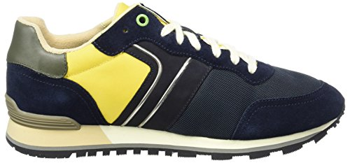 nymx blu 10191435 Verde runn Boss Bleu Homme Bassi Parkour Scuro 406 01 Sneakers qRvInwEnx
