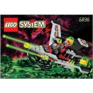 LEGO SYSTEM V-Wing Fighter, 6836, 39 Pieces, Space, UFO by LEGO (Lego Fighter Space)