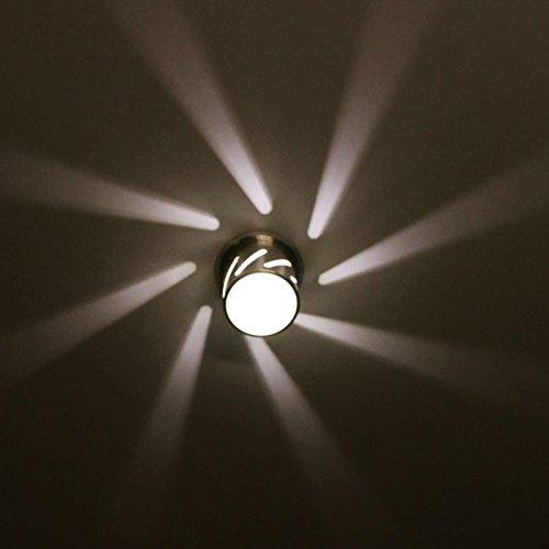 Aplique de pared LED Lámparas decoradas interiores Iluminación de techo Luces nocturnas 3W AC85-245V 3000K