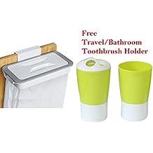 J Go Attach A Trash - Trash Bag Holder - For Kitchen/Car/Room/Clinics/Bathroom/Hotel Rooms Etc
