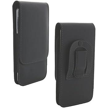 ac2c91a76ec5c Handywelt-Niefern Étui de Ceinture avec Clip en Acier pour téléphone  Portable Gigaset Huawei