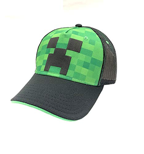 Minecraft Creeper Mütze