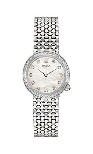 mant-Armbanduhr für Damen, mitEdelstahl-Armband, 96W206 ()