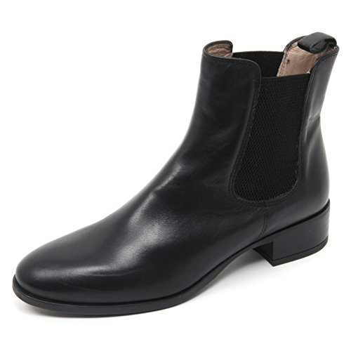 B7700 beatles donna UNISA DARWIN scarpa nero boot shoe woman Nero