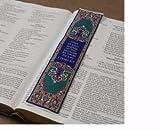 Logos Lesezeichen-1Peter 5: 7, Christian, Stoff Teppich Lesezeichen
