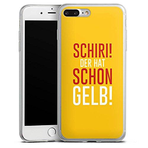 Apple iPhone 8 Slim Case Silikon Hülle Schutzhülle Fußball Kreisliga Schiri Silikon Slim Case transparent