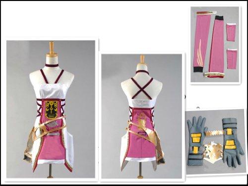Final Fantasy 13 Serah·Farron cosplay costume, Taglia XL: altezza 170cm- 180cm(Pleae scrivici la tua taglia, (Costumi Final Fantasy Cosplay)