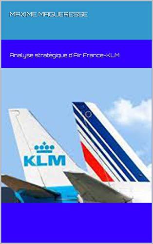 Couverture du livre Analyse stratégique d'Air France-KLM