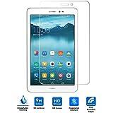 Huawei MediaPad T1 8.0 Cristal Templado Protector Vikoo 9H 0.33mm Ultra Delgado Shatterproof Pantalla de Vidrio Templado Flim Tempered Glass Screen Protector para Huawei MediaPad T1 8.0