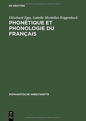 Phonetique Et Phonologie Du Francais (Romanistische Arbeitshefte,)