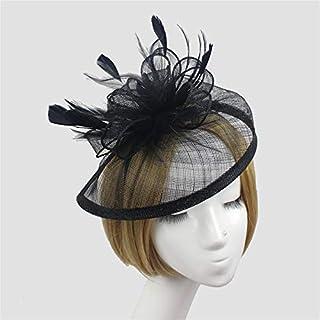 HUNLI Vintage Top Hat Wedding Dance Flower Mesh Veil Hair Accessories Accessories Hairpin Hair Accessories,8