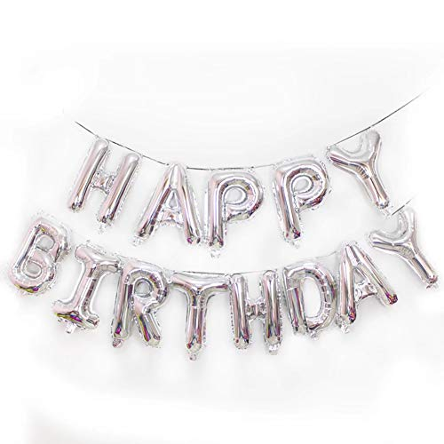 Warmiehomy Geburtstag Luftballons, geburtstagsdeko für Mädchen Junge und rwachsene, 16