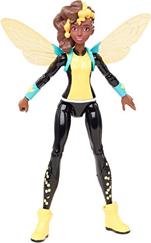 Mattel DMM37 - DC Super Hero Girls Bumble Bee Aktions-Figur, Aktionsfiguren-Zubehoer Bee Girl
