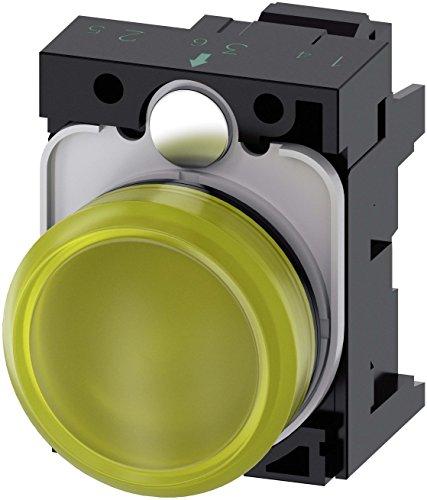 Siemens SIRIUS ATC Objektiv Lampe Gelb Signage Lisa Feder LED-Modul