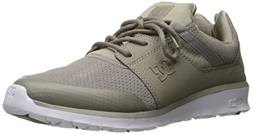 DC – -Uomo di Heathrow presti Low Top Scarpe Casual Pietra