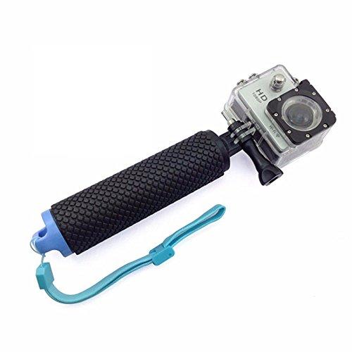 Theoutlettablet Monopod Palo Selfie Stick sumergible para camara deportiva sport cam DV SJCAM SJ4000 SJ5000 Xiaomi - gopro - Sport Cam - Excelvan - Elephone - Topjoy - Qumox - Topop - VicTsing - Pictek - Dbpower - Q5 - SK8 - EX5000 etc etc.. Tapón color Azul