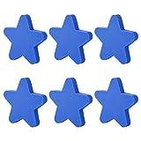 iVansa - Set di 6 Pomelli Decorativi per Cameretta Bambini, Armadi, Cassetti, Credenze, Rosa - 5,1×5,1×2,2 cm