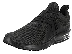 Nike Men's Air Max Sequent 3 Running Shoes, Multicolor (Blackanthracite 010), 10 Uk