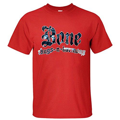 Flip rings Men's Music Band Bone Thugs-N-Harmony T-Shirt