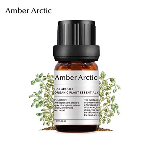 olio essenziale di patchouli per diffusore, olio di patchouli puro 100% puro per piante biologiche 10ml / 0,33 oz