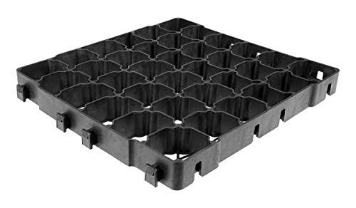 Land-Grid 55m² LG400 Rasengitter Paddockplatten Smart ohne Unterbau 38,5x38,5x4cm Paddockplatte Rasengitterplatten 12,49€/m²