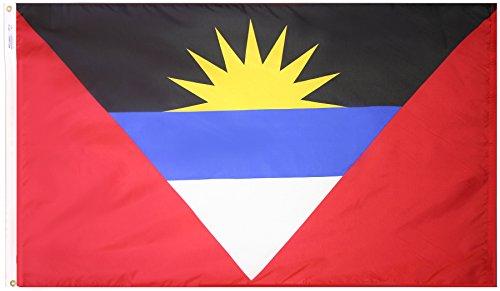 Annin Flagmakers Nylon SolarGuard NYL-Glo Antigua und Barbuda Flagge 3x5' Nicht zutreffend -
