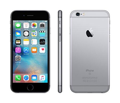 Apple iPhone 6s Smartphone (11,9 cm (4,7 Zoll) Display, 64GB interner Speicher, IOS) grey - 3