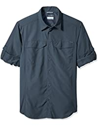 Columbia Men's Plain Regular Fit Nylon Casual Shirt