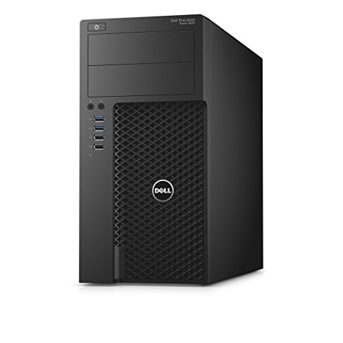 DELL Precision 3620 3.4GHz i7-6700 Mini Tower Negro - Ordenador de sobremesa...