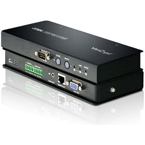 Aten RJ45 Video Receiv. Transmitter Up To 300 M + Balanced Audio, VE500R (Up To 300 M + Balanced Aud - Video Balanced