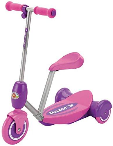 Razor Lil\' monopattino elettrico di colore rosa con sellino