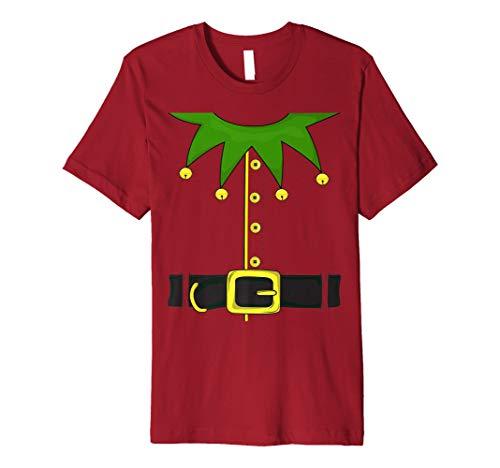 Weihnachtself Kostüm–Santa 's Elf T-Shirt Funny Elf -