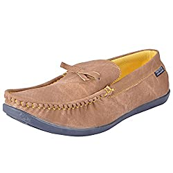 Fausto 1039-40 Tan Mens Loafers