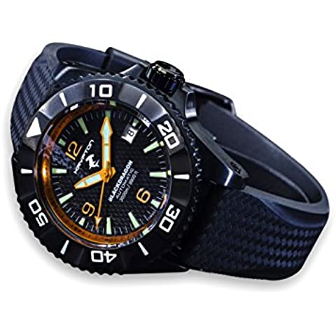 KRYPTON uomo-orologio Black Dragon automatico 36,749,122 - 36 Carbon