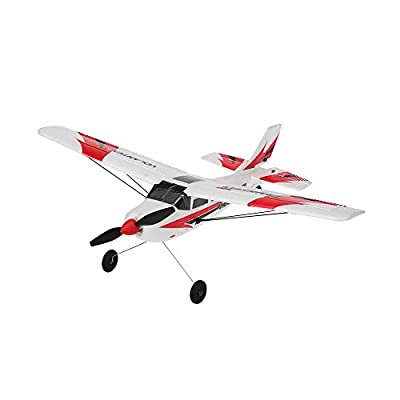 GoolRC Remote Control Airplane RTF RC Aircraft Drone with 2.4G 3CH 6-Axis Gyro Control RC Flying Aircraft for Indoors/Outdoors Flight Toys(Red)