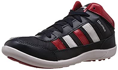 Columbus Men Black Red Sports Shoes (6 UK)