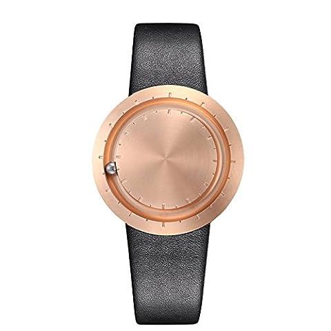 Die elegante Armbanduhr LAVARO ABACUS ROSEGOLD - Eine besondere Designer