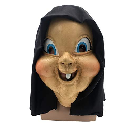 VJUKUBWINE Schrecklich Happy Death Tag Kopf Maske Halloween -