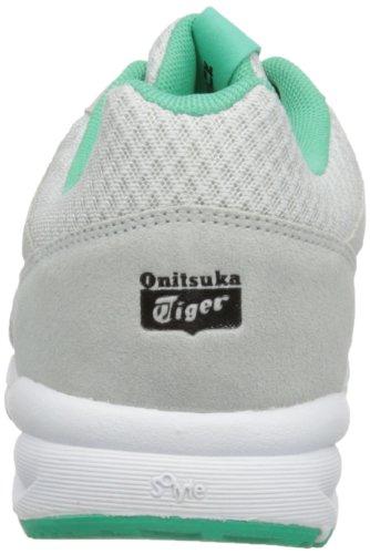 Onitsuka Tiger Shaw Runner - Scarpe da Ginnastica Basse Unisex - Adulto grigio(Soft Grey/Soft Grey)