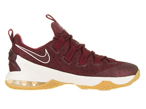Nike Lebron Xiii Low, Chaussures de Sport-Basketball Homme Rouge - Rojo (Team Red / Sail-Black)