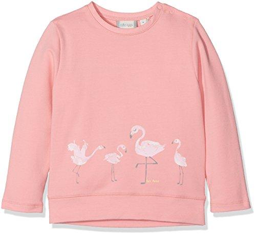 Sanetta Baby-Mädchen 114260 Sweatshirt, Rosa (Candy 38047), 62 -