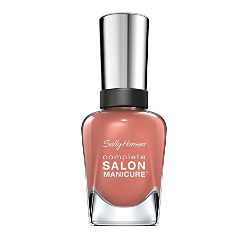 Sally Hansen Complete Salon Manicure Nagellack, Farbe 260, So Much Fawn, altrosa / pink, 1er Pack (1...