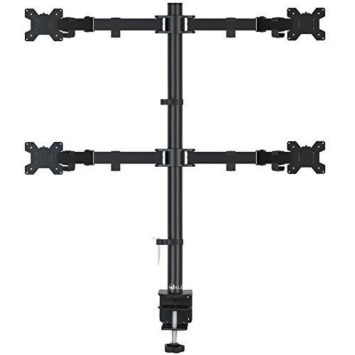 Wali Dual LCD Monitor Tischhalterung Ständer (wl-m002) Quad Arm- Extended Flat-panel-mount-adapter
